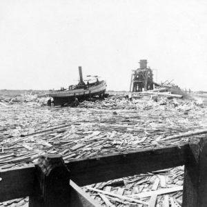 Galveston Hurricane-Galveston Wreckage