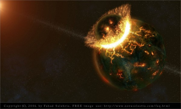 Eclipse-Collision with Earth