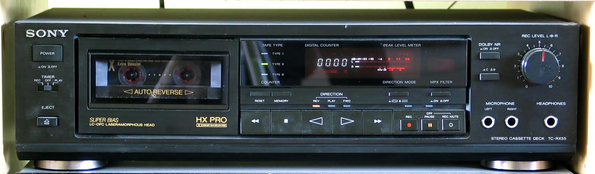 History of Music Players-Cassette Player