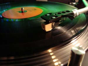 History of Music Player-Album and Turntable