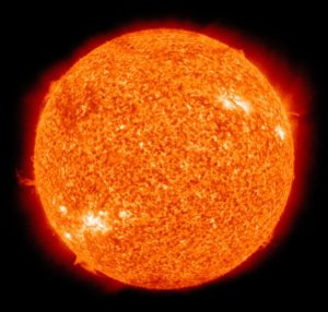Life Expectancy of our Sun-Pic of Hot Sun