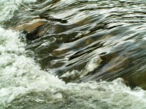 Fresh Water-Pic of water over rocks