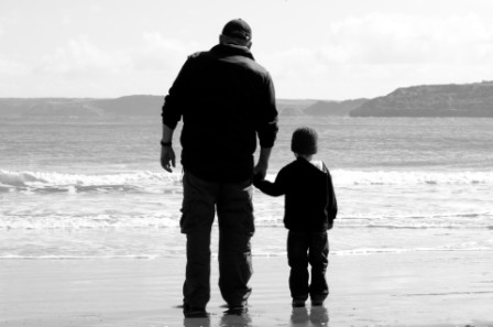 Grandparenting-Pic of Grandfather and Grandson